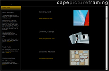 Cape Picture Framing - artists links