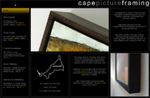 Cape Picture Framing - homepage