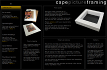 Cape Picture Framing - trade services